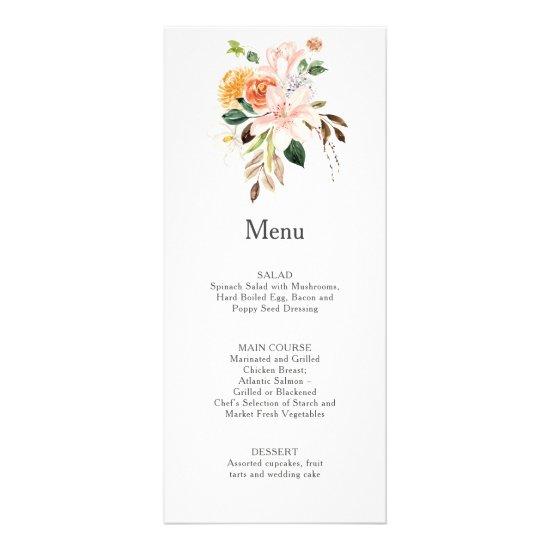 Elegant Lilies, Magnolias, Peonies, Roses | Menu