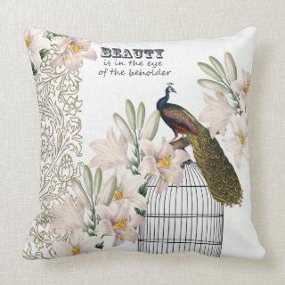 Elegant Lilies Peacock