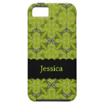 Elegant Lime Green Personalized Case-Mate iPhone 5 iPhone 5 Covers