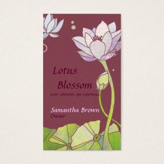 Elegant Lotus Salon Spa Business Cards