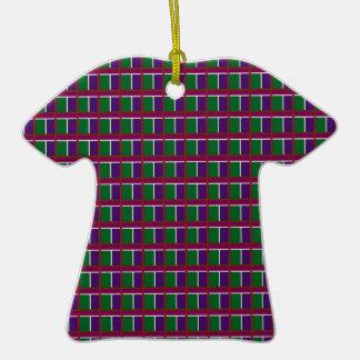 Elegant LOW PRICE Checks Holy Purple Greetings FUN Ornaments
