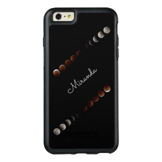 Elegant Lunar Eclipse - Personalized w. Name - OtterBox iPhone 6/6s Plus Case