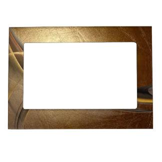 Elegant Luxury Leather Look Magnetic Photo Frame
