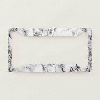 Elegant Luxury Marble Pattern License Plate Frame