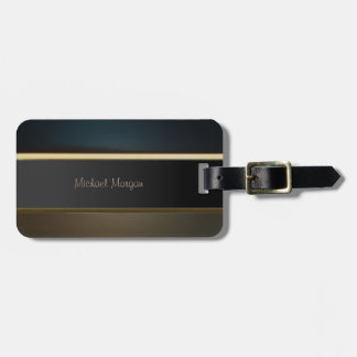Elegant Luxury ,Retro ,Striped Luggage Tag