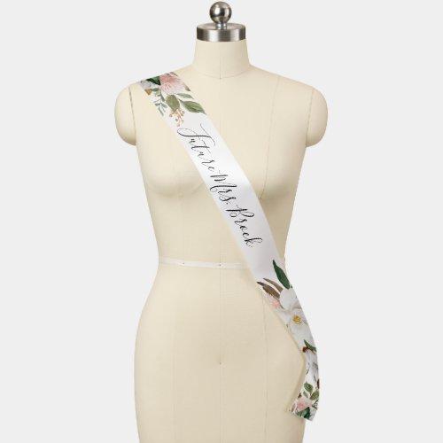 Elegant Magnolia Bridal Shower Future Mrs Sash