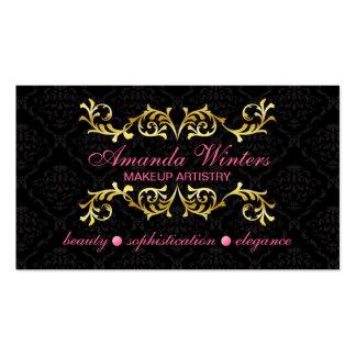 Elegant Makeup Artist Business Cards