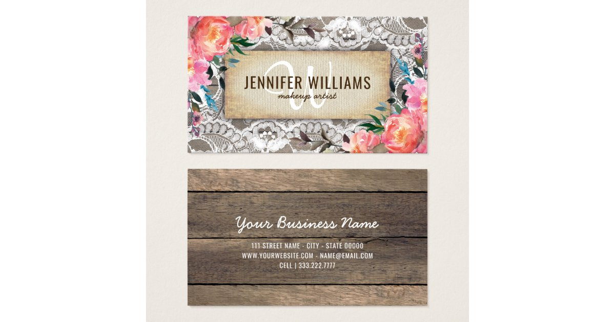 Wedding Business Cards & Templates | Zazzle