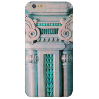 ELEGANT MARBLE COLUMN,PINK BLUE INTERIOR DESIGN BARELY THERE iPhone 6 PLUS CASE