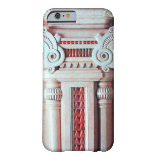 ELEGANT MARBLE COLUMN,RED PINK INTERIOR DESIGN BARELY THERE iPhone 6 CASE