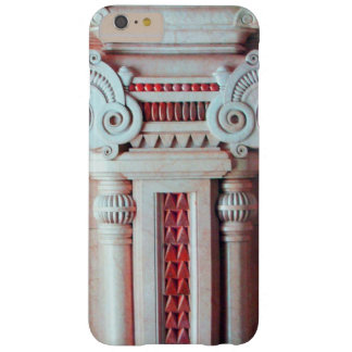 ELEGANT MARBLE COLUMN,RED PINK INTERIOR DESIGN BARELY THERE iPhone 6 PLUS CASE