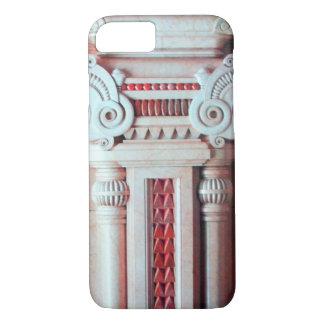 ELEGANT MARBLE COLUMN,RED PINK INTERIOR DESIGN iPhone 7 CASE