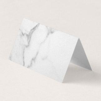 Elegant Marble Folded Place Cards