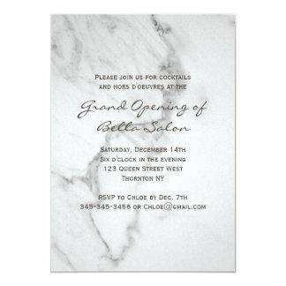 Elegant Marble Grand Opening Invitation