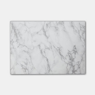 elegant marble post-it notes
