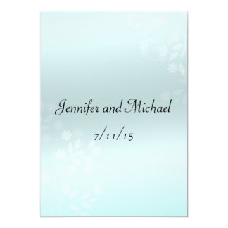 Elegant Marriage Advice, Comment Card