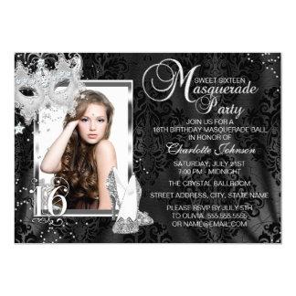 Masquerade Sweet 16 Invitations & Announcements | Zazzle