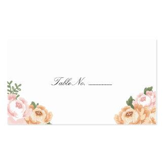 Elegant Mason Jar Guest Escort Cards Business Card Templates