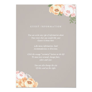 Wedding Direction Card Templates