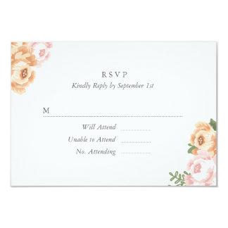 Elegant Mason Jar RSVP Card Invites