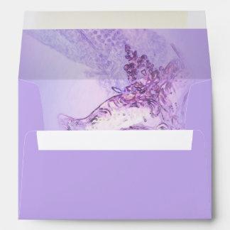 Elegant Masquerade Purple and Pink Envelope