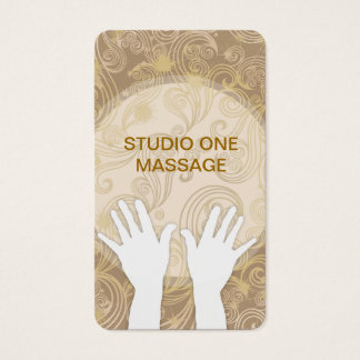 Elegant Massage Business Cards