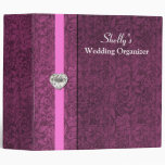 Elegant Mauve Wedding Organizer Binder