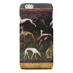 Case Savvy iPhone 6 Glossy Finish Case with Greyhound Phone Cases design