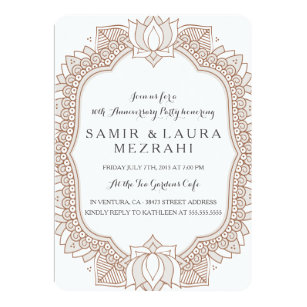 Henna Party Invitations Zazzle