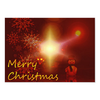 Elegant Merry Christmas Card