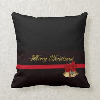 Elegant Merry Christmas Pillow