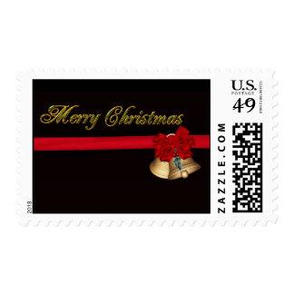 Elegant Merry Christmas Stamp