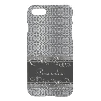 Elegant Mesh Metal Metallic Accents iPhone 8/7 Case
