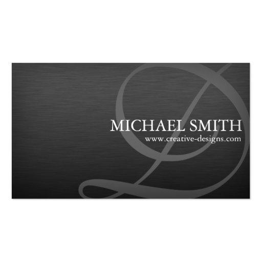 Elegant Metallic - D,B Business Card Templates