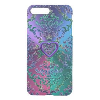 Elegant Metallic Lace Celtic Heart iPhone 7 Plus iPhone 8 Plus/7 Plus Case