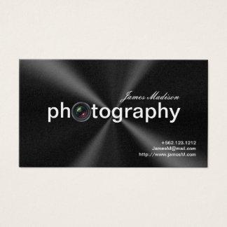 Elegant Metallic  Photogrpahy Business cards