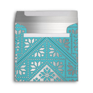Elegant Mexican Pattern Envelope