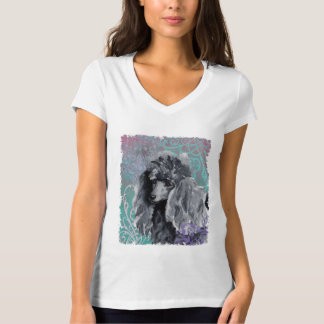 Elegant Miniature Poodle T Shirt