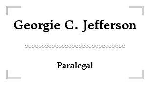 Paralegal business cards zazzle elegant minimal paralegal business card reheart Image collections