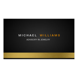 ELEGANT MINIMALIST LEGAL LAWYER ADVISORY Double-Sided STANDARD BUSINESS CARDS (Pack OF 100)