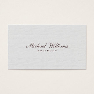 ELEGANT MINIMALIST PROFESSIONAL SIMPLE TARGET BUSINESS CARD