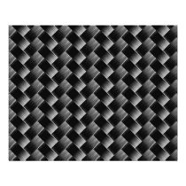 Elegant Modern Black Weave Pattern Flyer