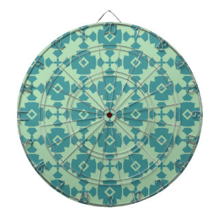 Elegant Modern Classy Retro Dartboard With Darts