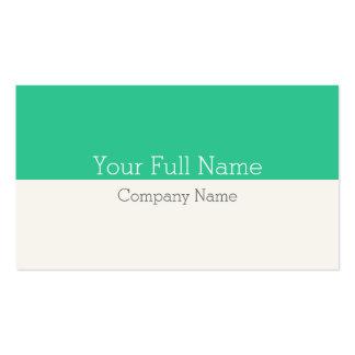 ELEGANT MODERN CLEAR FRESH SIMPLE MAKE-UP BUSINESS CARD