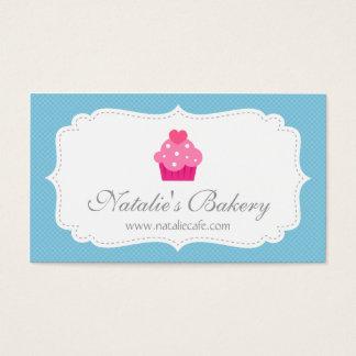 Elegant, Modern, Cupcake, Bakery Business Card