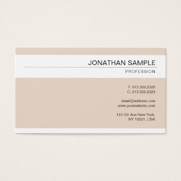 Wedding Themed Elegant Modern Minimalist Professional Design Business Card