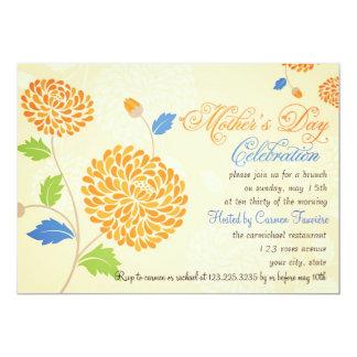 Elegant Modern Mother's Day Celebration Brunch Custom Announcements