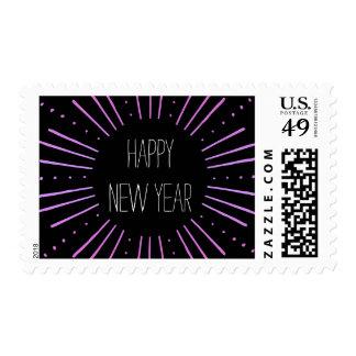 Elegant & Modern New Year Postage