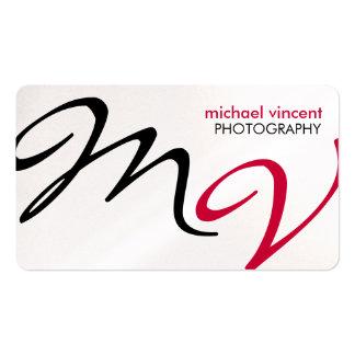 Elegant Modern Photography Business Card