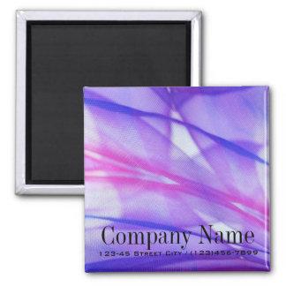 elegant modern purple abstract business refrigerator magnet